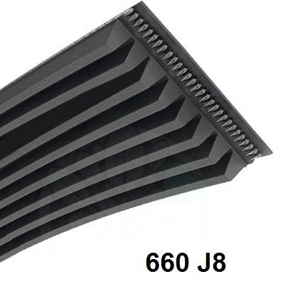 courroie poly v 660j 8 stries courroie betonniere. Black Bedroom Furniture Sets. Home Design Ideas