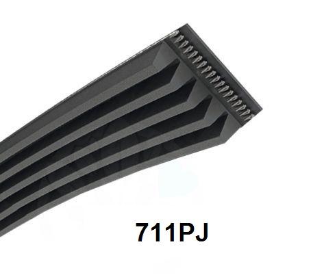 courroie 711pj profil j pas de 2 34mm courroie poly. Black Bedroom Furniture Sets. Home Design Ideas